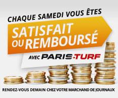 Satisfait ou Remboursé / Paris Turf