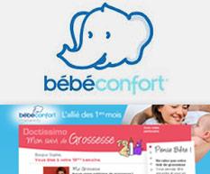 Habillage web / Bébé Confort