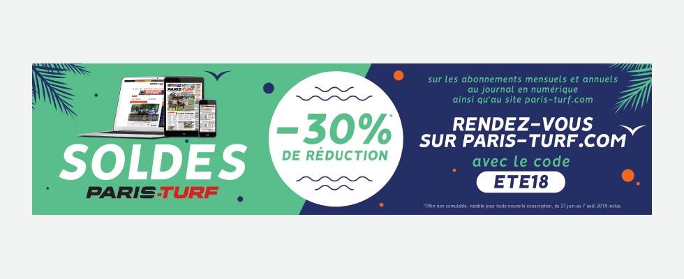 Promos de PARIS-TURF 2018