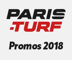 Promos pour Paris-Turf – 2018