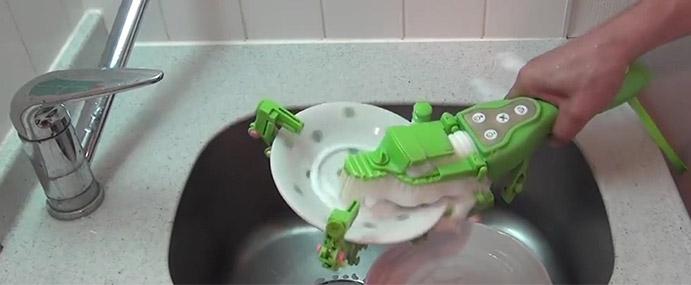Japanese Dishwashing Device
